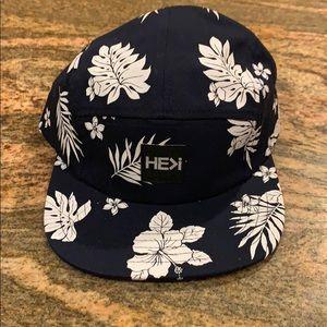 Floral Print Hat HEKI